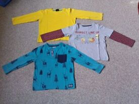 4-5 years bundle of 7 long sleeve tops in excellent condition