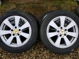 4 tyres and wheels
