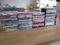 DVD'S for sale, large amount, 80 all in excellent condition L23 AREA