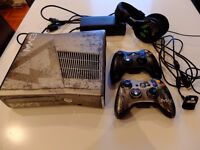 XBox 360 Modern Warfare 3 limited edition 320GB console and turtle beach headset