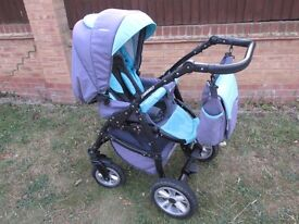 3 in 1 travel system in great condition