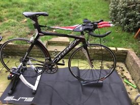 Orbea ora 51cm 700cc TT / Triathlon bike and turbo trainer accessories included