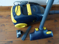 Vacuum Cleaner, Carlton 1300 easy glide with tools.