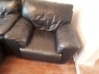 3 seater & arm chair for sale