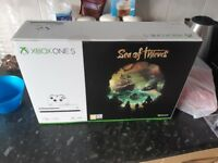 Brand new Xbox one s 1tb with sea of thieves