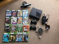 Xbox 360s with kinect, 16games