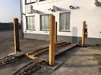 4 post 3 ton Bradbury garage lift ramp