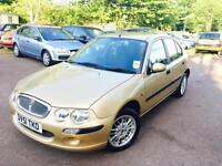 Rover 25....1.4 petrol one lady owner long mot good runner 495