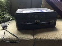 Epson printer and scanner no ink or cd £15 ONO