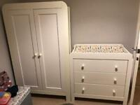 mamas and papas nursery furniture set