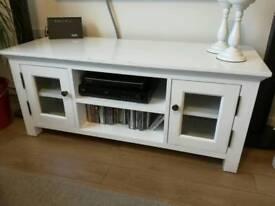 Solid oak TV unit cabinet like IKEA