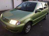 2001 VOLKSWAGON POLO 1.4 / CLEAN CAR / PART SERVICE HISTORY / MOT JAN 2019 / ONLY £795
