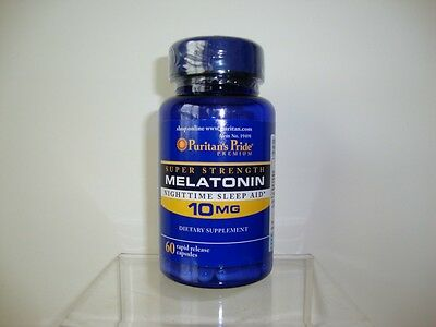 Puritans Pride Melatonin 10 Mg Natural Sleep Improve Sleep Quality Made In Usa