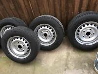 Ford Transit steel wheels mk8 Custom