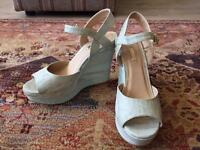 2 pairs Next size 6.5 wedges