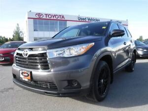 2015 Toyota Highlander LE TOYOTA CERTIFIED PRE OWNED
