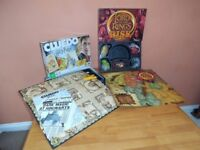 Harry Potter Cluedo and Lord of the Rings Risk. Great board games for Christmas