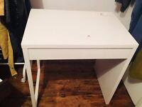 Micke Ikea White Desk