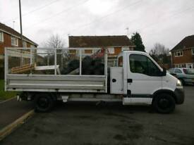 Vauxhall Movano ex council caged tipper with tail lift! No VAT!