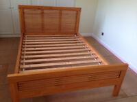 Double Bed Frame for Sale in Brighton. Strong, sturdy and very easy to assemble. Collection only.