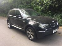 BMW X3 2004 2.5i Sport Station Wagon 5d 2494cc Automatic SPARE OR REPAIR