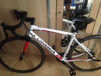 Men's hybrid orbea avent bike