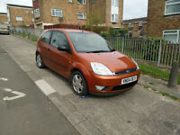 Ford Fiesta 1.4 petrol, low mileage