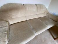 G-Plan Settee/Sofa (3 seater) & 2 Chairs - Shelbourne Suite