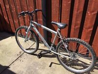 Halfords Trax 18 speed adult mountain bike