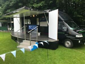 EXHIBITION MOBILE STAGE UNIT FOR  HIRE
