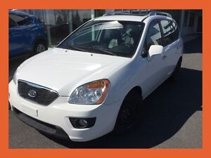 2012 Kia Rondo EX V6 LUXURY + CUIR + 7 PASSAGERS + TOIT OUVRANT