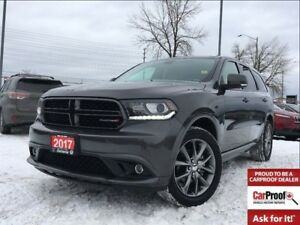 2017 Dodge Durango GT**LEATHER**SUNROOF**DVD**NAVIGATION**