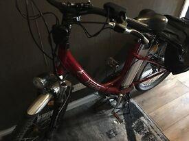 Electric bike Freego with throttle