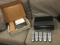 X3 Sky HD boxes and 5 remotes