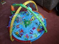 Lamaze play mat with toys