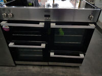 Belling DB4 100Ei Stainless Steel Induction Range Cooker