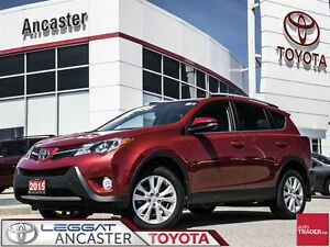 2015 Toyota RAV4 Limited with only 29941 kms!!
