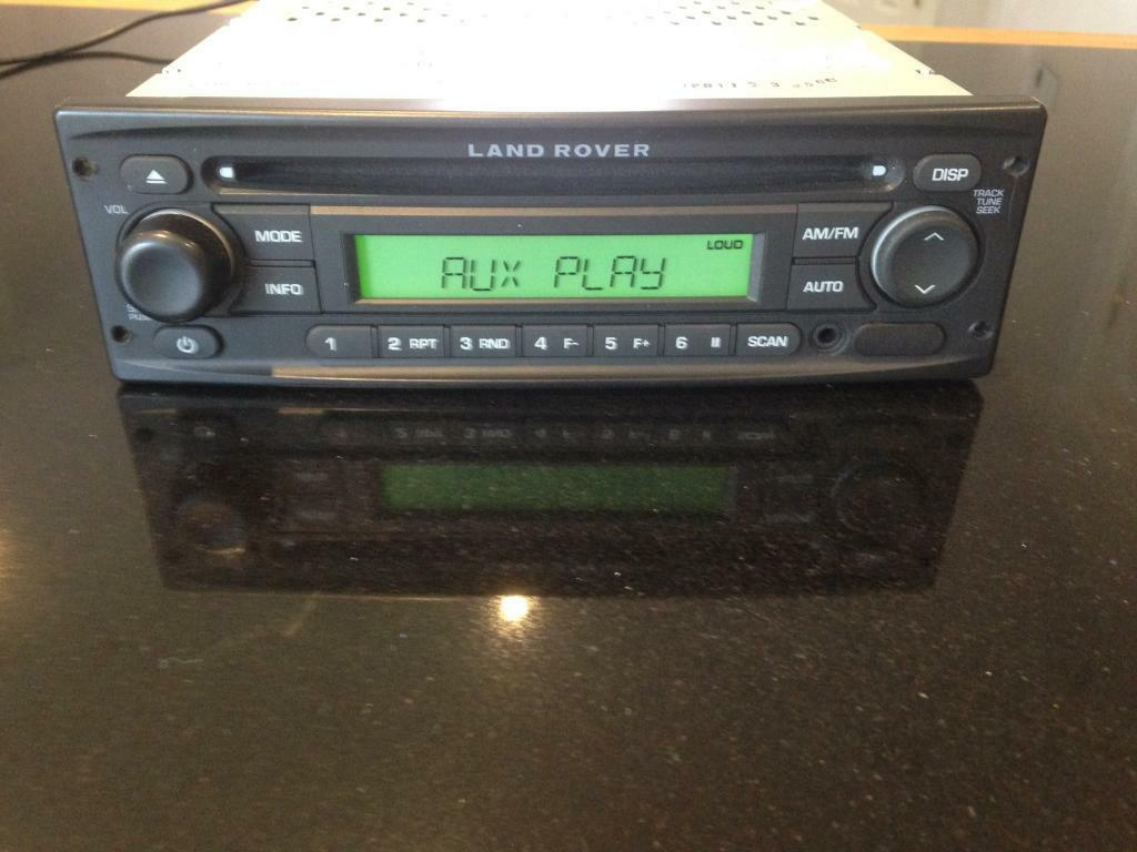 Land Rover Defender Radio Cd With Aux Input In Dunmow
