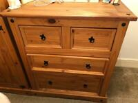 Corona Mexican Pine Chest of Drawers