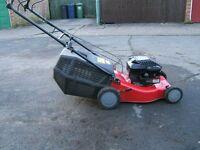 sprint XP40 petrol lawn mower