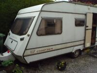 14 ft BAILEY CHIEFTAIN TOURING CARAVAN