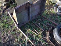 Tanco rear loader manure fork