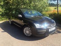Ford Focus 1.6 Lx black full service history hpi clear
