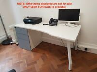 Office desks with drawers (x 3 desks available)