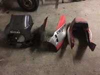 SUZUKI GSXR SLINGSHOT PARTS JOB LOT (swaps considered)