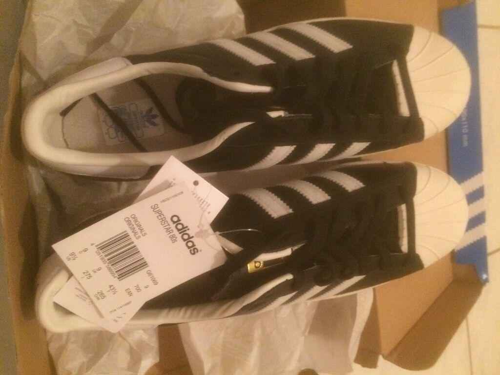 Adidas Originals SUPERSTAR 80s - uk size 9