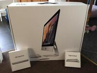 """iMac 21.5"""" Mid 2014 edition, 13 months old, As new Boxed with extras"""