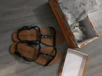 Brand new ladies sandals size 7