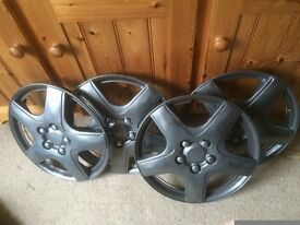 Set of wheel trims - alloy appearance