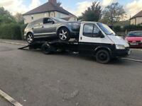 Scrap cars brought for cash